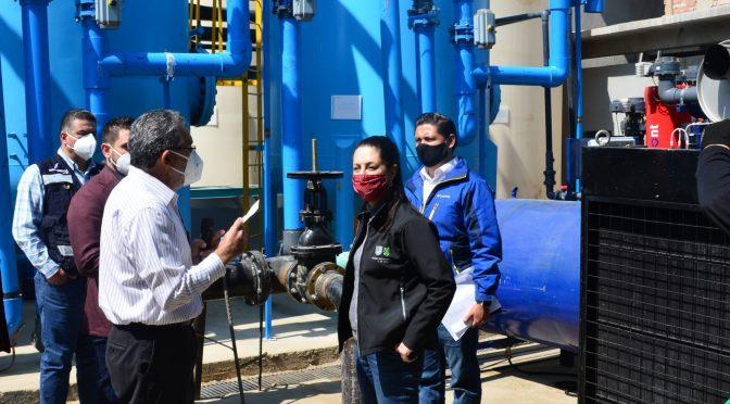 Entrega Gobierno de la CDMX planta potabilizadora de agua en Tláhuac (El Universal)