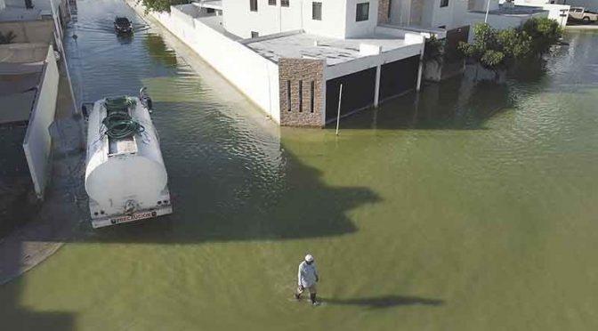 Yucatán: Sacan más de 40 millones de litros de agua de Las Américas en Mérida (Por Esto)