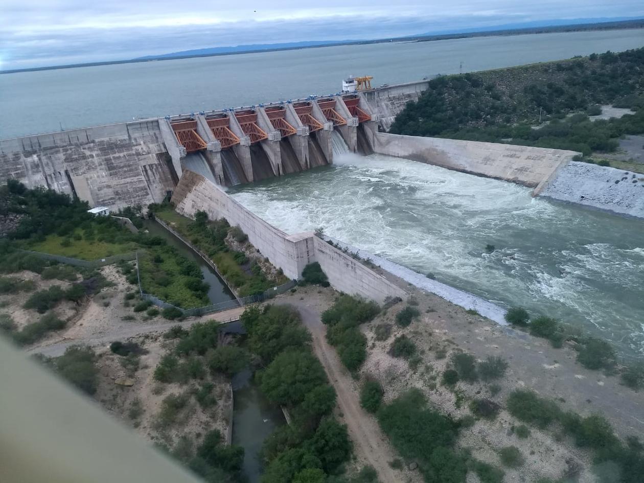 Utilizarán agua de la presa El Cuchillo en acuerdo con EU (Telediario)