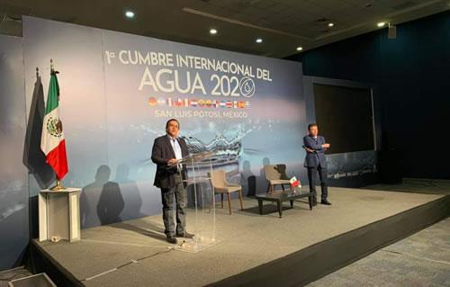 Concluye con éxito la Primer Cumbre Internacional del Agua (Revista punto de vista)