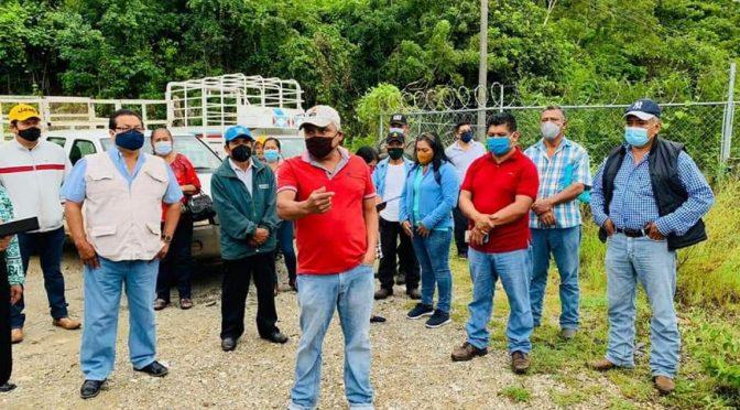 Oaxaca: Recorre Conagua presa y río Santo Domingo. (NVI Noticias)