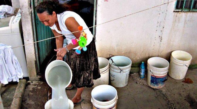 ¿Por qué hay desabasto de agua en La Paz, ¡en plena pandemia!? (Cultura Colectiva)