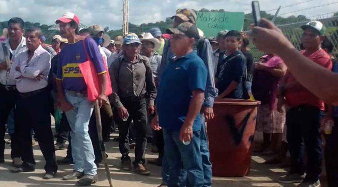 Alistan una manifestación comuneros de Ixcatepec por la falta de agua potable