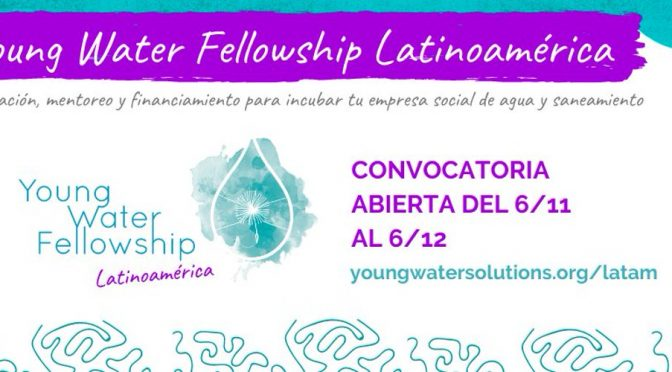 Programa Young Water Fellowship (YWF)