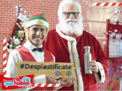 Lanzan campaña contra basura por envolturas de regalos (Excelsior)
