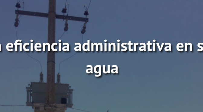 Presumen eficiencia administrativa en sistema de agua (NTR Zacatecas)