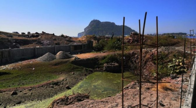 Semarnat Sinaloa aprobó construcción sobre ojo de agua en Isla de Chivos (Son Playas)