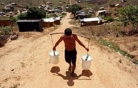 El agua está en peligro (América Latina)