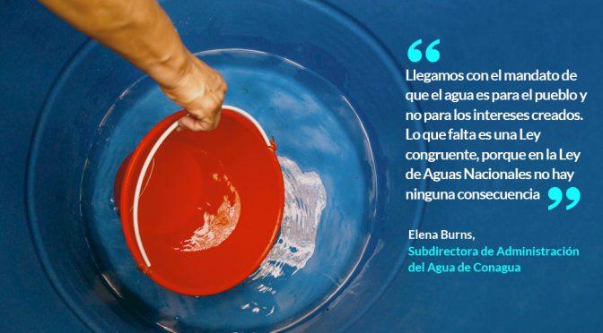 México: Empresas riegan el agua del país como quieren. La Conagua exige nueva Ley que cerrará la llave. (Sinembargo.mx)