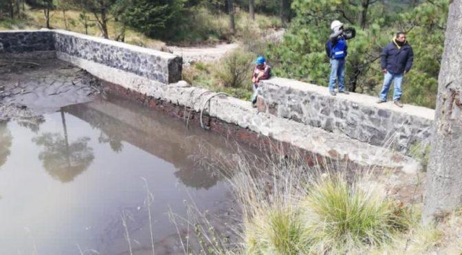 Cuajimalpa realiza desazolves en presas Tres Caminos, Oyameles y La Cadena (La Razón)