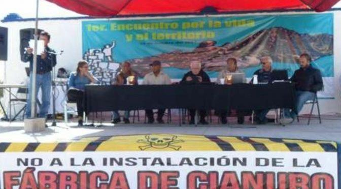 Durango: rechazan estudio para una fábrica de cianuro (La Jornada)