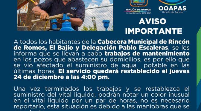 Dejan sin agua a la mitad de habitantes en municipio de Aguascalientes (La jornada)
