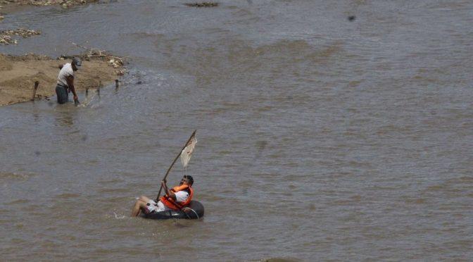 CNDH pide detener contaminación de heces fecales del río Atoyac en Oaxaca (Milenio)