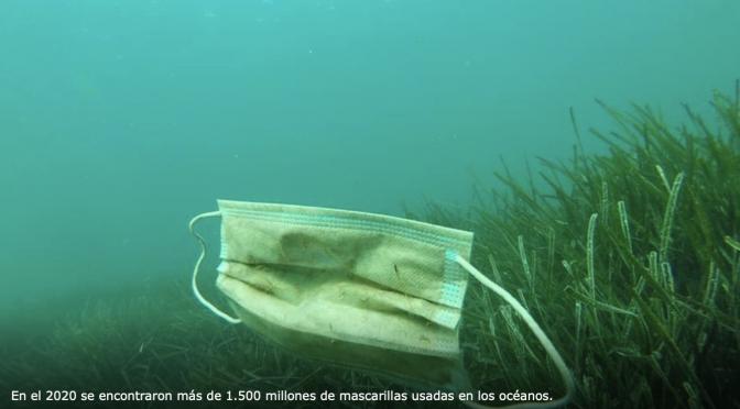 Pandemia: Las mascarillas, una contaminación mundial que amenaza los océanos (Tiempo digital)