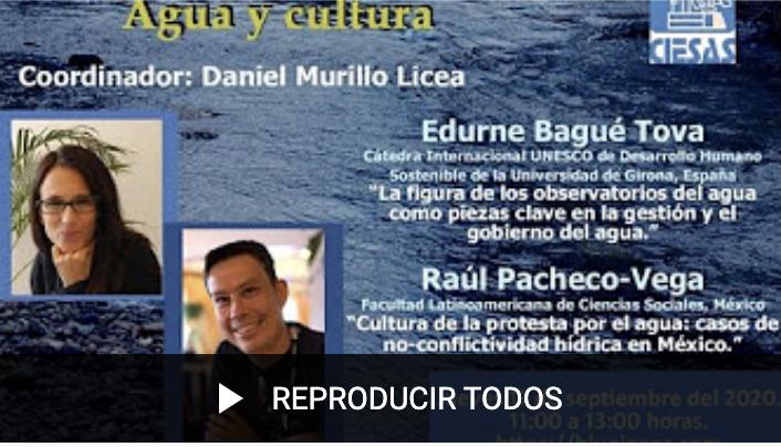 Seminario Permanente Agua y Cultura (Videos)