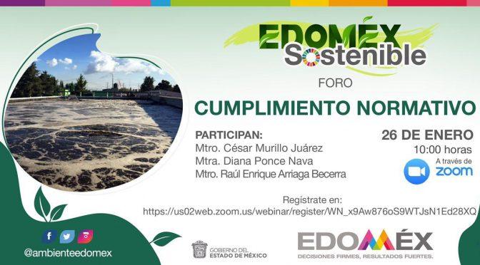 Foros EDOMEX Sostenible: Cumplimiento Normativo