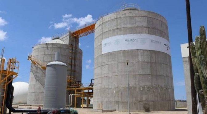Buscan disminuir costos de energía de la planta de aguas residuales (El Sudcaliforniano)