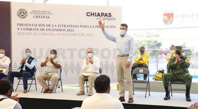 Chiapas: Evitar incendios forestales para mitigar contaminación (Cuarto Poder de Chiapas)