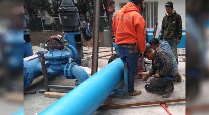 Se han invertido 93.6 mdp en infraestructura hidráulica en Morelia (SMRTV)