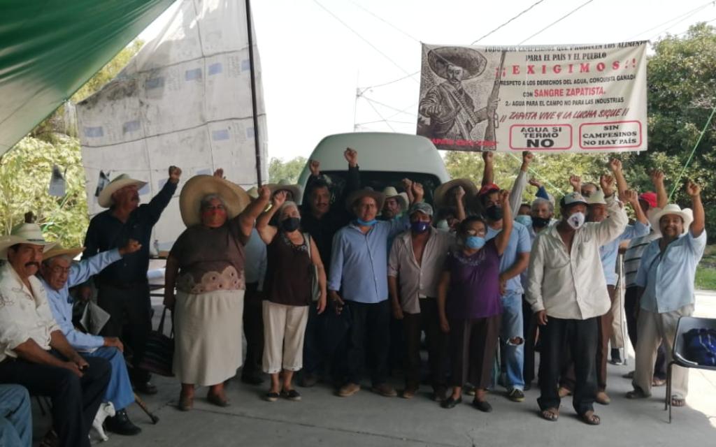 Suspenden siembras a ejidatarios en el oriente de Morelos por escasez de agua (Aristegui Noticias)