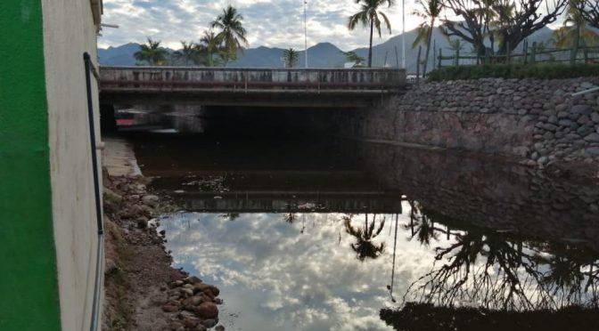 Nayarit: Contaminan con aguas residuales el arroyo de Los Camarones (Tribuna de la Bahía)