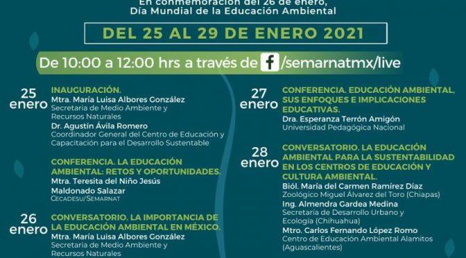 Organiza Semarnat la Semana de la Educación Ambiental