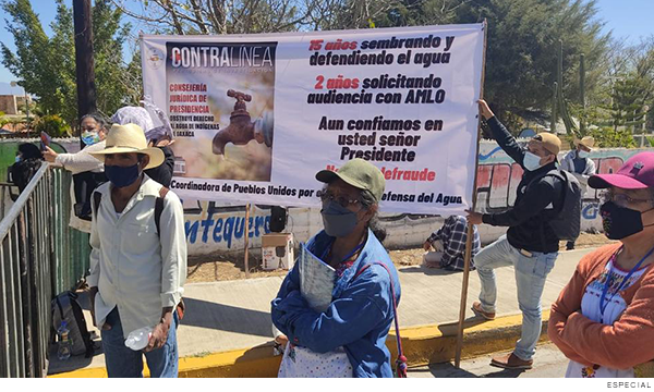 Oaxaca: Exigen a AMLO decreto para acceso pleno al agua en Valles Centrales de Oaxaca (contralinea.com.mx)