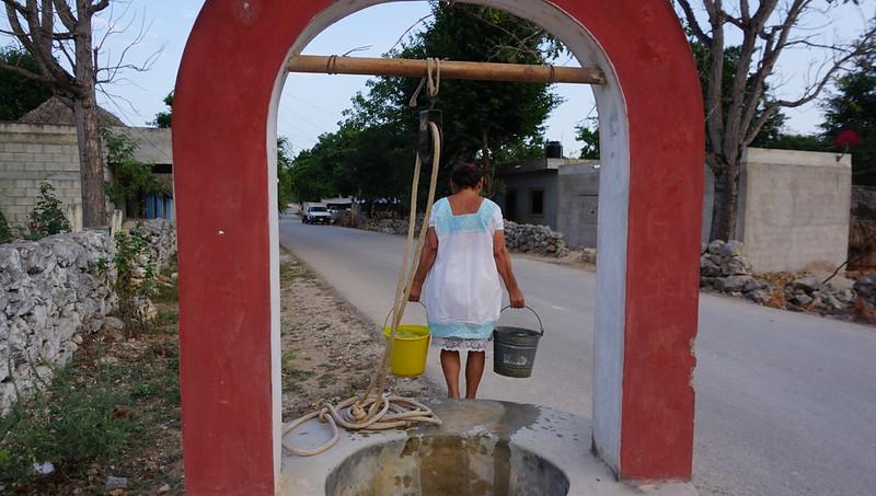 Yucatán: Existe un problema de desabasto de agua potable en Yucatán: Cortés Campos (La Jornada Maya )