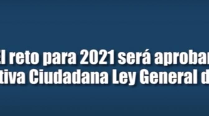 México: El reto para 2021 será aprobar la Iniciativa Ciudadana Ley General de Aguas (La coperacha)