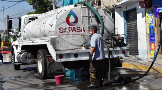 Habitantes acusan reducción de abasto de agua en Valle de México (EL UNIVERSAL)