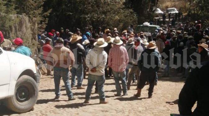 Puebla: Se confrontan pobladores de Teotlalciongo por distribución del agua potable (El Sol de Puebla)