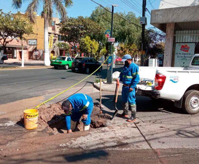 Guanajuato: Trabajan para mejorar servicio de agua potable en Irapuato (BAJIO WEB)