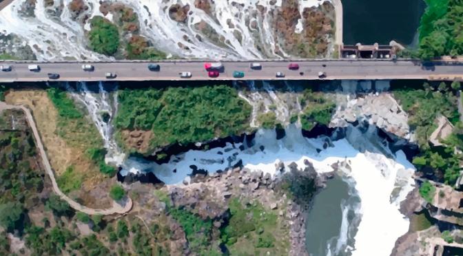 Boletín: Guadalajara: Evidencia la CEDHJ el área de influencia por la contaminación en el río Santiago y lago de Chapala (Comisión Estatal de Derechos Humanos Jalisco)