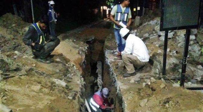 Tamaulipas: Comapa Altamira y Obras Públicas del Estado modernizan red de agua potable (El Sol de Tampico)