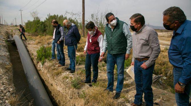 Coahuila: Aumentarán volumen del agua para las colonias de Ramos Arizpe (El Heraldo de Saltillo)