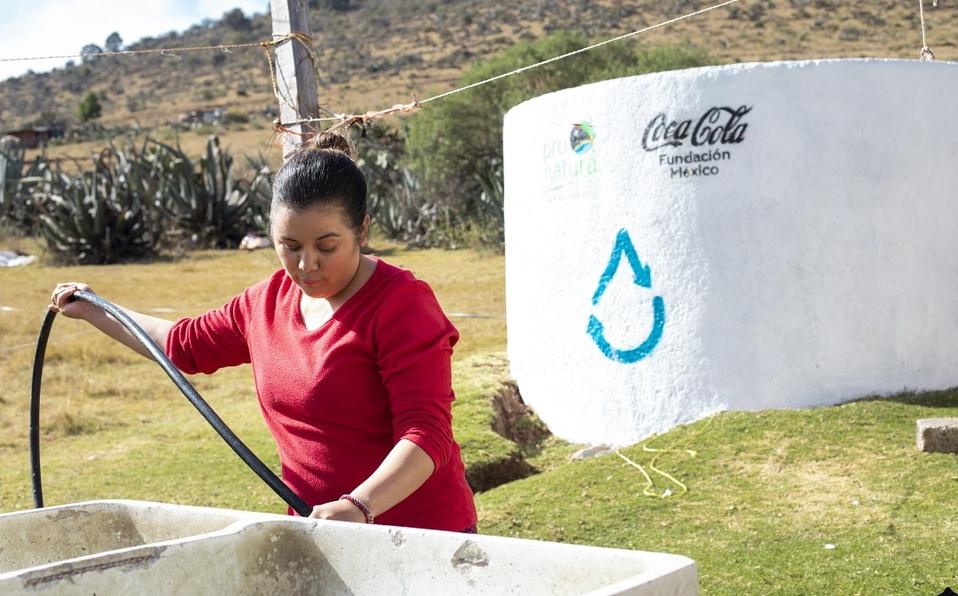 CDMX: Buscan que más mexicanos tengan acceso al agua potable (Milenio)