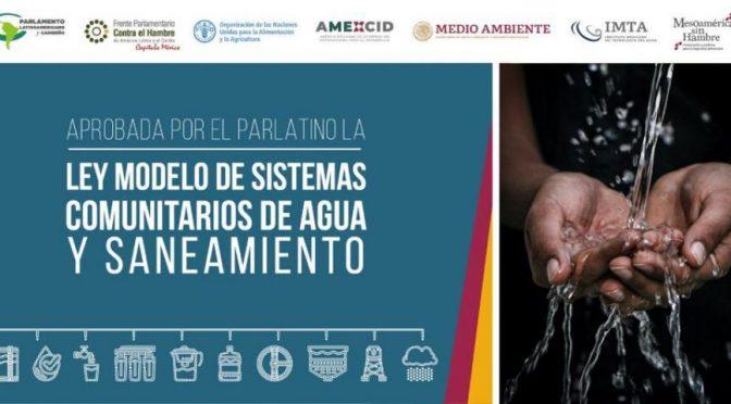 América Latina: Aprueban Ley sobre Sistemas Comunitarios de Agua (Portal Ambiental)