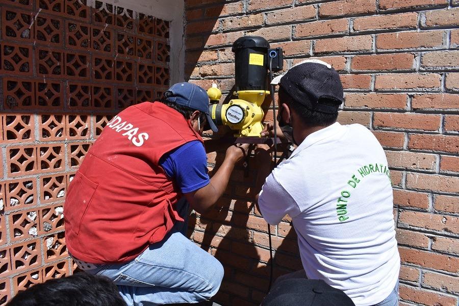 EDOMEX: Chimalhuacán mejora la calidad del agua en 18 pozos (alianzatex.com)