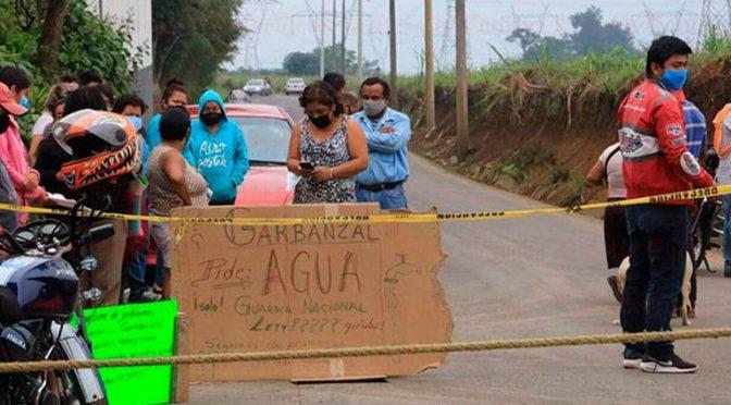 Veracruz: Colonos del Rancho el Garbanzal exigen agua potable (El Sol de Córdoba)