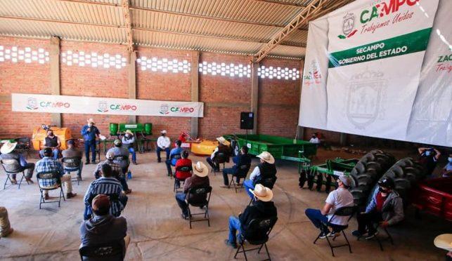 Zacatecas: Entregan embalses de agua en el semidesierto con inversión de 7 mdp (Express Zacatecas)