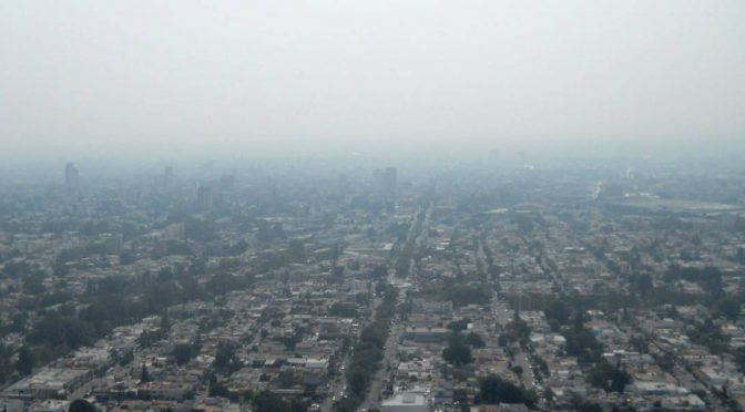 Jalisco: Inicia la Zona Metropolitana de Guadalajara con el pie izquierdo por la mala calidad del aire (Publimetro)