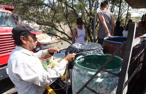 CDMX: Escasez de agua en Zapopan (La Jornada)