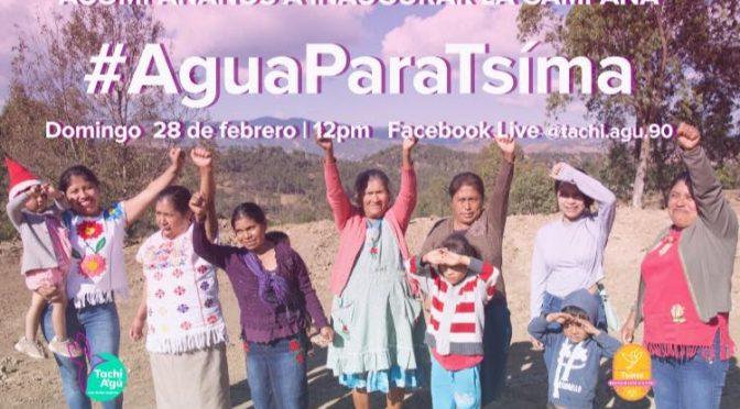 Gro: Mujeres mè'phàà de Guerrero lanzan campaña de donación para captar agua de lluvia (Chiapas Paralelo)