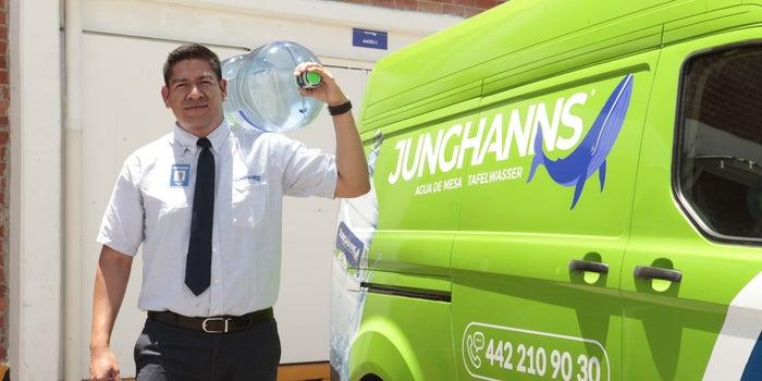Invierte en Junghanns Agua de Mesa desde 5 mil pesos (Entrepreneur)