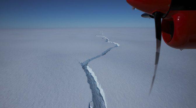 Un enorme iceberg, del doble del tamaño de Madrid, se desprende de la Antártida (VIDEO) (actualidad.rt)