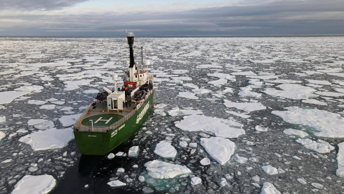 Científicos afirman que para el fin de este siglo el Ártico estaría libre de hielo durante cuatro meses (actualidad rt)
