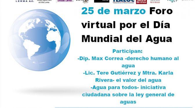 Foro Virtual por el Día Mundial del Agua