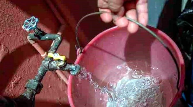 Advierten para CDMX más escasez de agua (Luces del Siglo)
