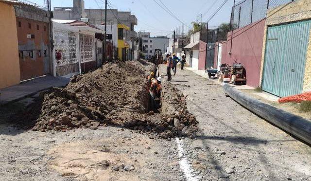 Puebla: Inicia Agua de Puebla sustitución de línea de distribución en la Guadalupe Hidalgo (El Sol de Puebla)