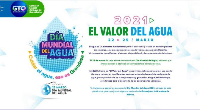 Gto: Prepara CEAG Semana Virtual para conmemorar el Día Mundial del Agua (Gobierno de Guanajuato)